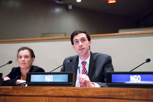 Dr. Matthew Bolton, Assistant Professor of Political Science and Model UN advisor at Pace University New York City, calls on the UN General Assembly First Committee to include greater civil society participation in disarmament processes.